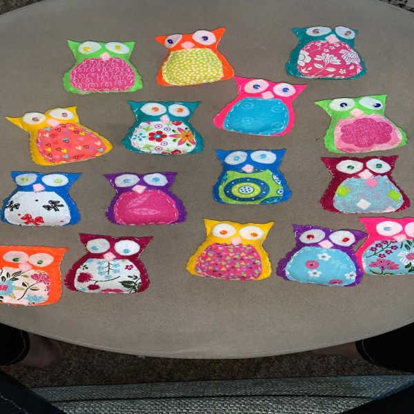 Felt Owls by Zara
